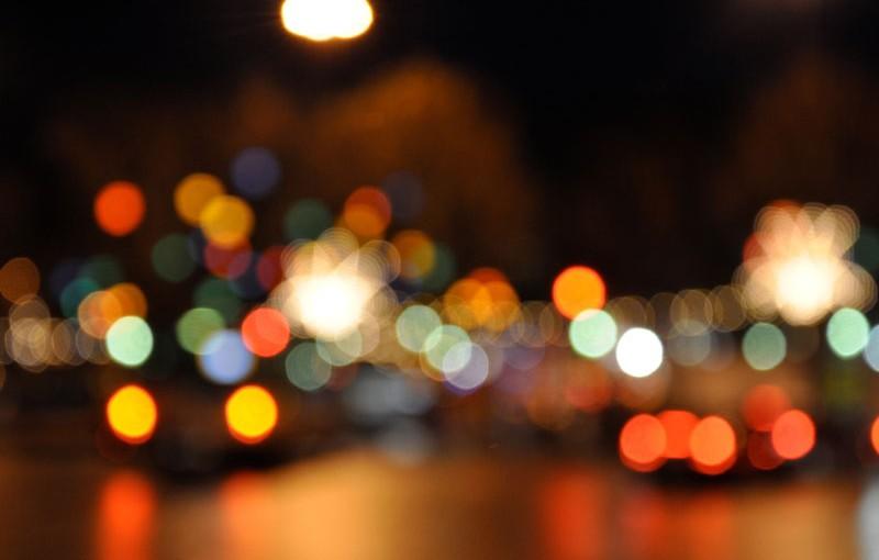 Rue Martel à Paris, la nuit