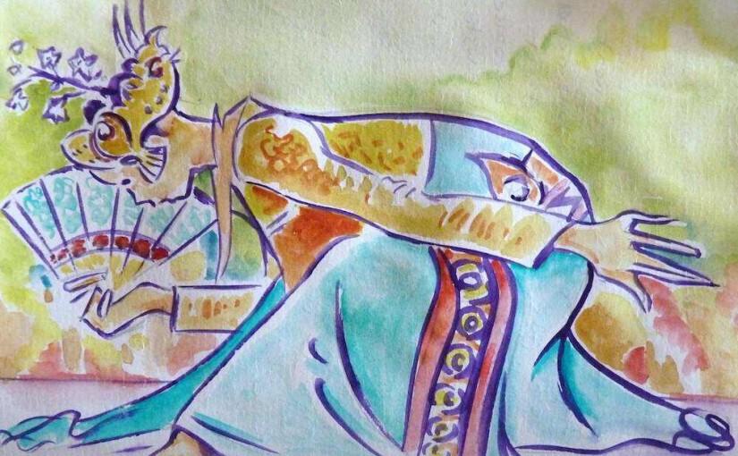 Danseuse de Legong à Bali