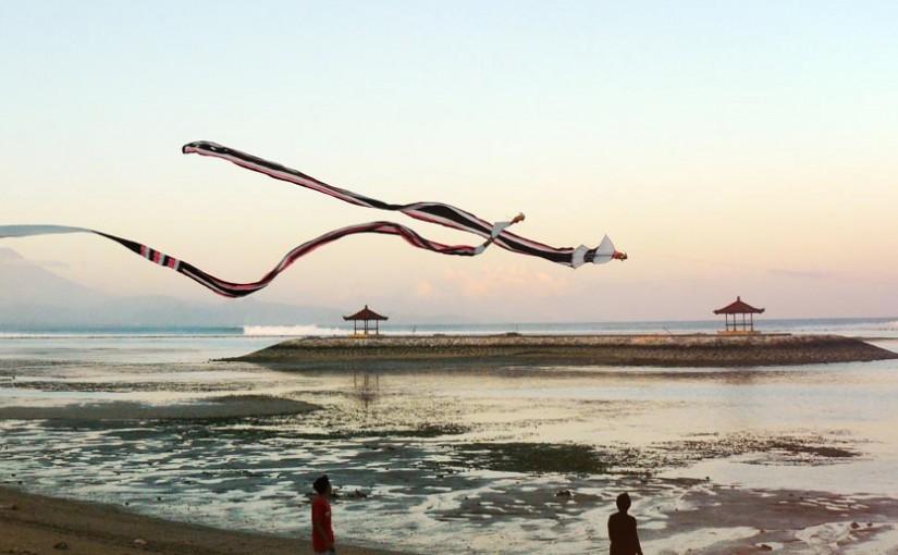 Cerf-volants entre la mer et le ciel