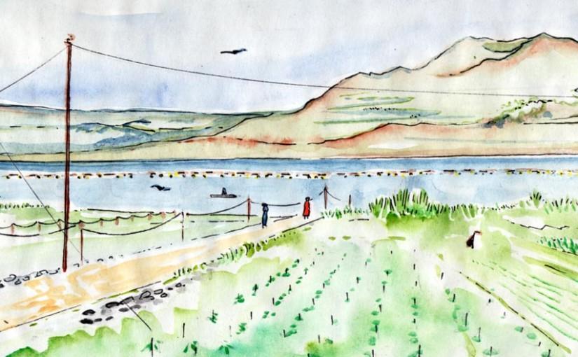 Gunung Abang et le Lac Batur