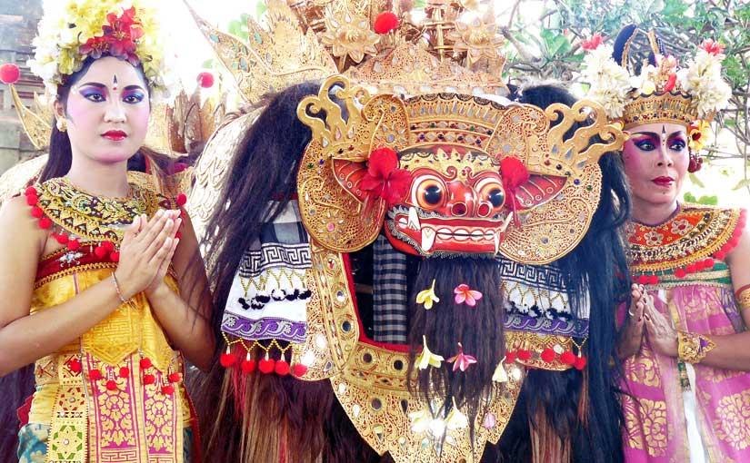 Bali, l'île multicolore