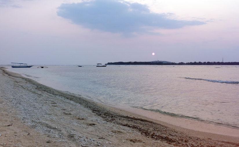 coucher du soleil Bali
