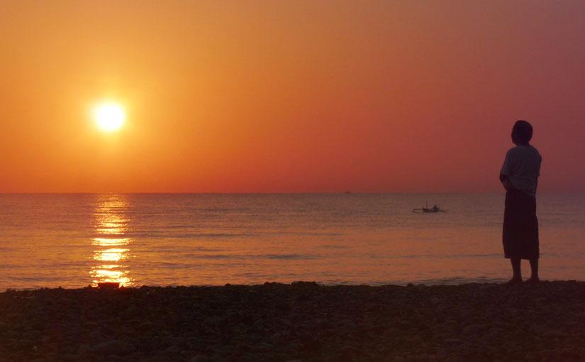 Lever du soleil à Amed